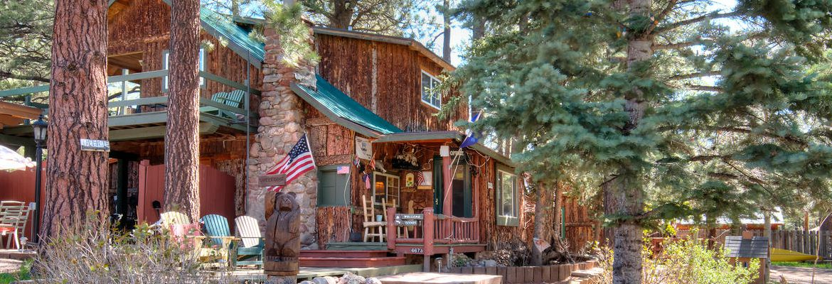 Cabins for rent at StoneWall Lodge in Weston, Colorado