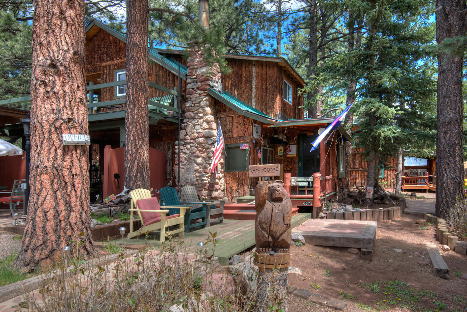 rent in for office feather lake cabins ramona new rental rentals colorado lakes red cabin